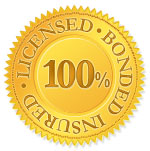 Licensed, Bonded, Insured Seal